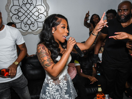 K Michelle Performs Live In The Carolina's