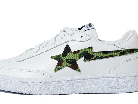BAPE and Reebok are Teaming up on the Club C