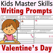 Square Cover - Kinder Writing Prompts Bo