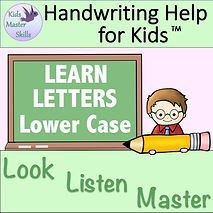 Square Cover - LEARN LETTER Lower Case.j