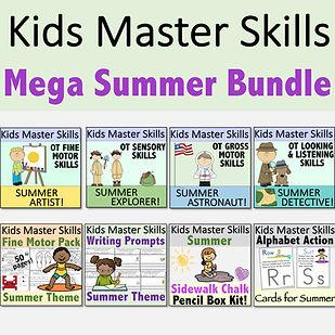 Square Cover - Mega Summer Skills Bundle