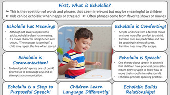 Encourage Echolalia in Autism