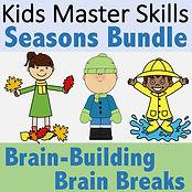 SquareCovers-Brain Break - Seasons Bundl