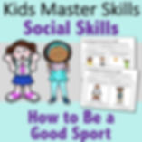 Square Cover - Social Skills - How to be