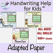 Square Cover - Handwriting Paper Packet BUNDLE.jpg