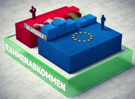 SCHWEIZ - EU: DIE 6 BAUSTELLEN DES INSTITUTIONELLEN RAHMENABKOMMENS