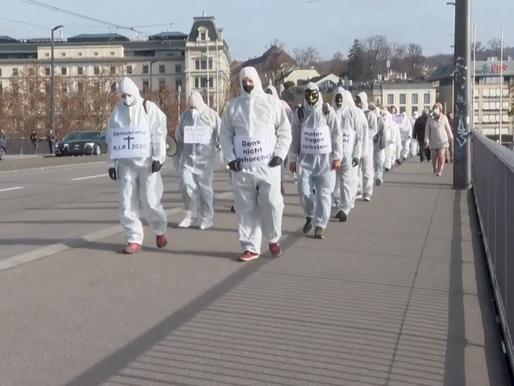 1. Protestmarsch in Zürich