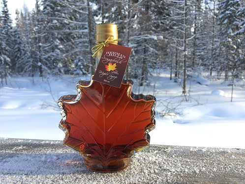 500 mL Glass Maple Leaf