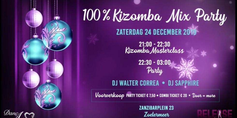 Release 100% Kizomba Mix Party - XMAS edition