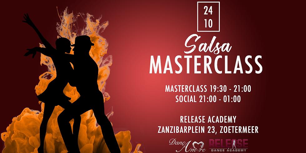 Masterclass Salsa + Social
