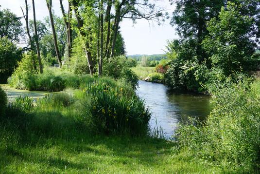 Der Mühlbach am südlichen Ortsrand