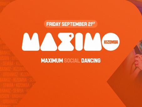 Samenwerking MAXIMO Kizomba en DançAmore