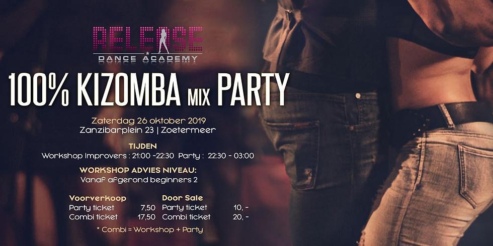 Release 100% Kizomba Mix Party