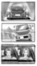 モノクロ  絵コンテ