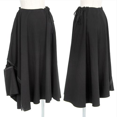 Yohji Yamamoto Flare Skirt w/zipper