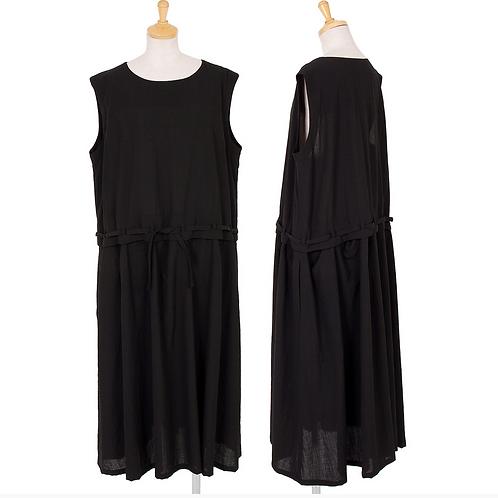 Y's  Sleeveless Dress with Waist Belt