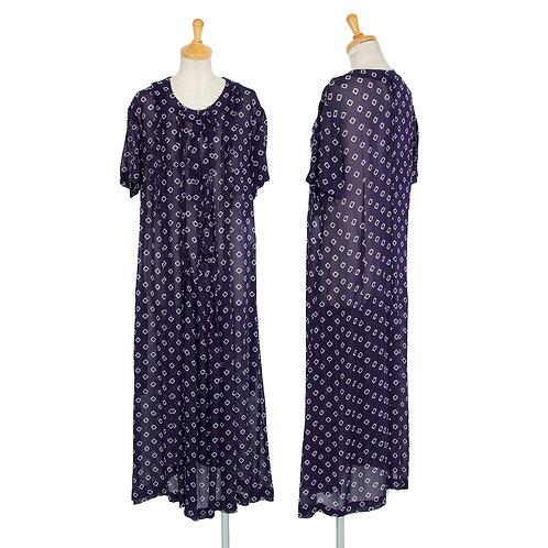 Comme des Garcons Comme des Garcons printed Frill Dress
