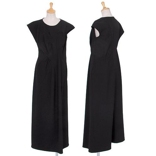 Yohji Yamamoto  Gabardine Sleeveless Dress