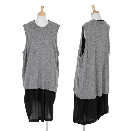 Comme des Garcons Layered sleeveless Dress