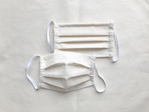 Cotton washable pleats mask