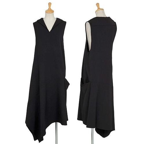 Yohji Yamamoto NOIR asymmetric Dress with pocket