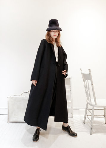 Over the seam long coat