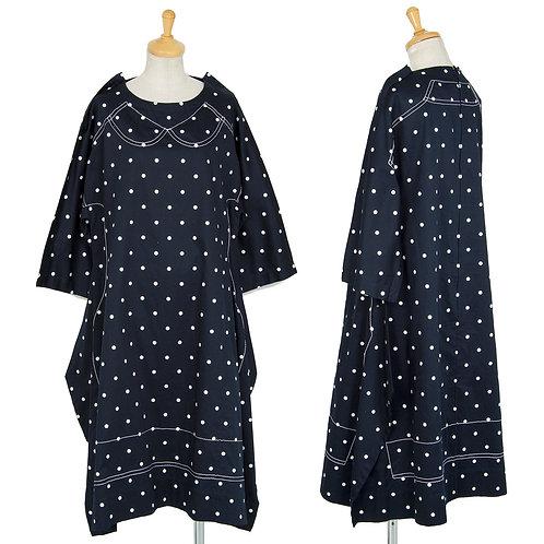 Comme des Garcons Comme des Garcons Polkadot Dress with stitch
