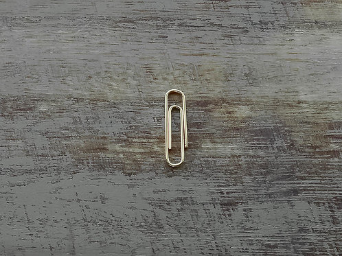 3/4'' Clip Handmade Sterling Silver Earring