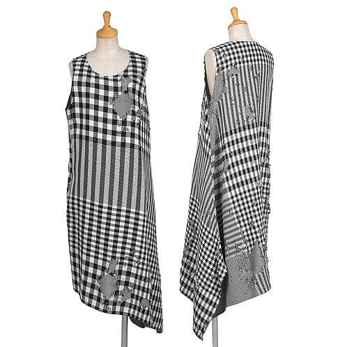 Y's Plaid Patchwork Dress
