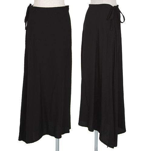 Yohji Yamamoto  Asymmetry Skirt