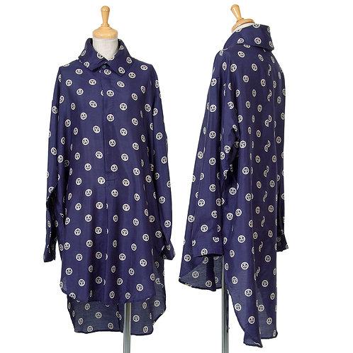 Yohji Yamamoto Silk Shirts Dress