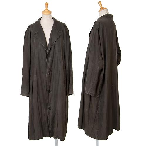 Y's Linen silk maxi Jacket