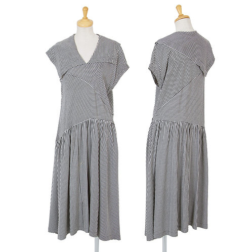 Tricot COMME des GARCONS  Checked Dress