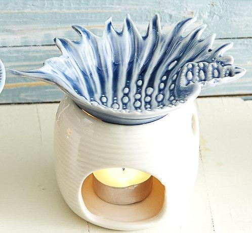 Nautical Conch Shell  Ceramic Oil Burner