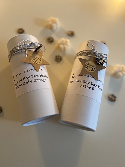 Animal Paw Scented Soy Wax Melts Tube