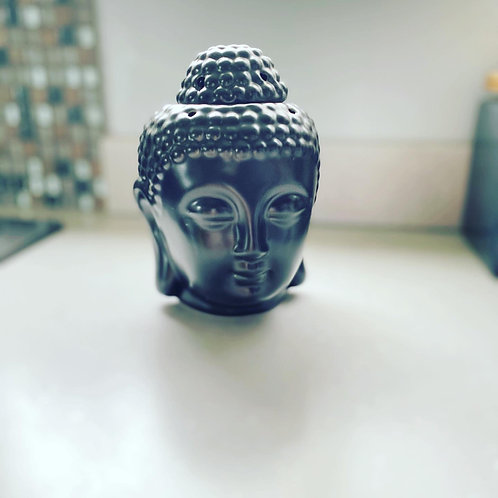 Buddha Ceramic Black Oil Burner