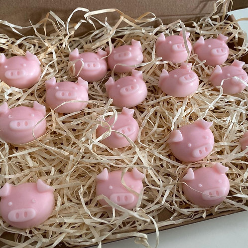 Pigs in Bed  Wax Melts Gift Box