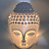 Thumbnail: Buddha Ceramic White Oil Burner