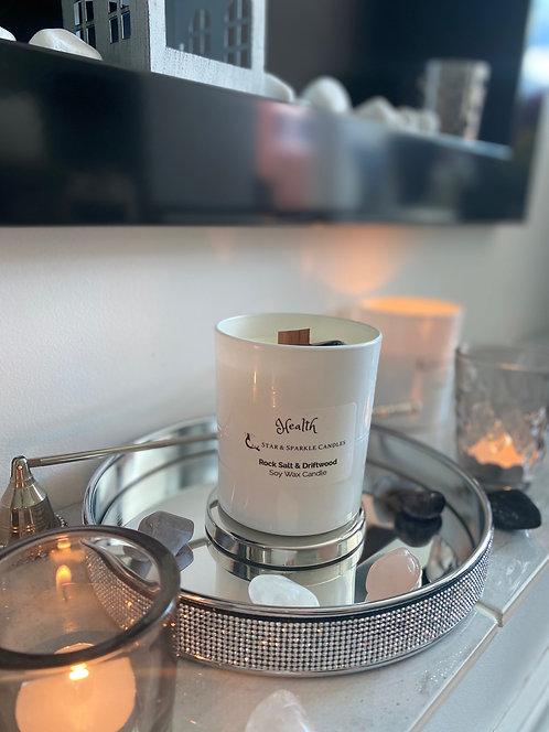 Health Crystal Candle