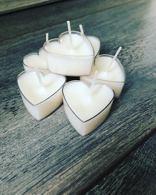 Heart Tealight Set