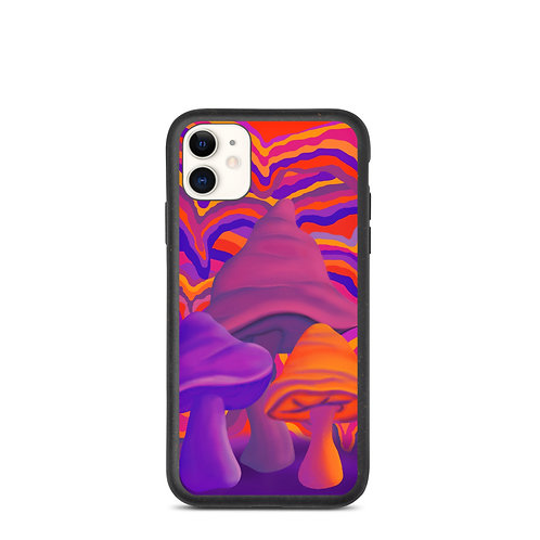 Psychedelic ShroomsBiodegradable phone case