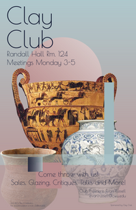 Clay Club Poster
