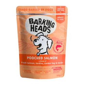 Barking Heads Pooched Salmon Pouch 300g