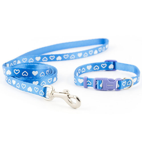 Ancol Puppy Heart Set Blue
