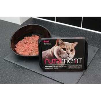 Nutriment Cat Adult Beef Formula, 500G