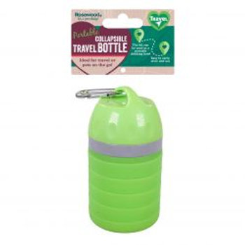 Rosewood Portable Collaspible Travel Bottle