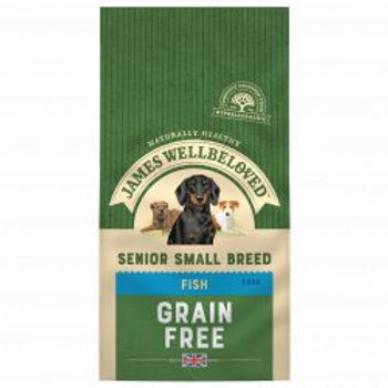 James Wellbeloved Fish & Veg Senior Small Breed Grain Free