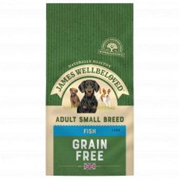 James Wellbeloved  Fish & Veg Adult Small Breed Grain Free