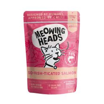 Meowing Heads So-fish-ticated Salmon Pouch