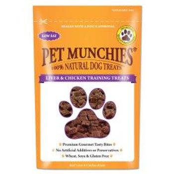 Pet Munchies 100% Natural Liver & Chicken Training Treat